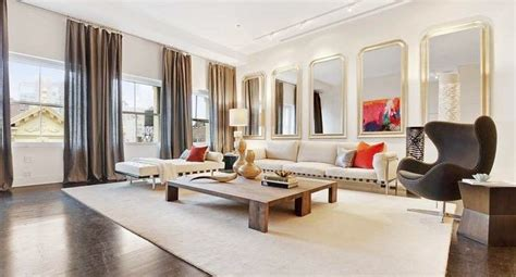 livingroom soho multi million dollar penthouse in soho new york design