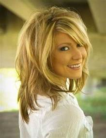 shoulder length layered longer in front hairstyle 1000 ideas about medium length layered hairstyles on