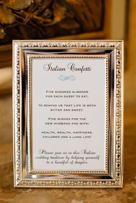 Best 25  Italian wedding traditions ideas on Pinterest