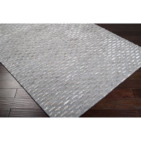 Silver Gray Area Rugs Surya Atlantis Gray Silver Area Rug Reviews Wayfair