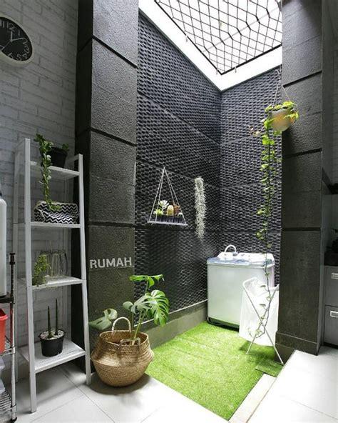 desain ruang cuci jemur minimalis buat rumah mungil
