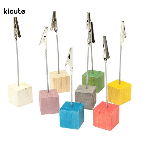 doodles wire desk collection 8pcs set color cube stand wire desk card note picture memo