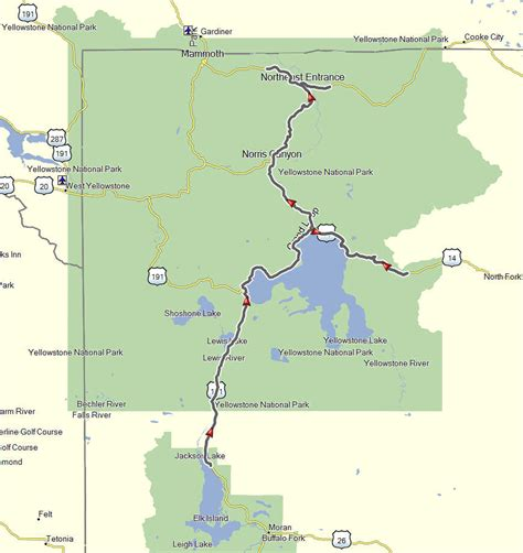 seattle to west yellowstone map maps don moe s travel website
