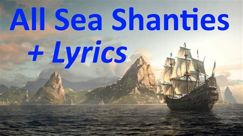assassins creed 4 black flag all sea shanties pirate quot assassin s creed 4 black flag quot all 35 sea shanties hd