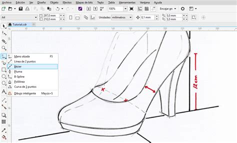 fungsi layout corel draw designing a high heel shoe with coreldraw da clipping path