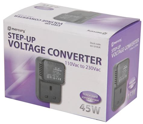 step up voltage converter step up travel voltage converter transformer adaptor us to