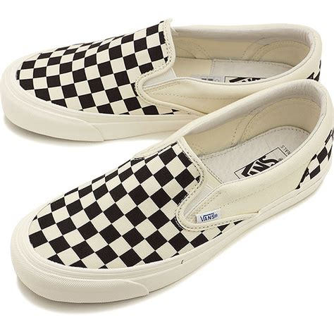 Vans Slipon V98cla Black White Japan mischief rakuten global market vans vans sneakers s s vault og classic slip on lx