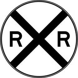 Railroad crossing sign cliparts co