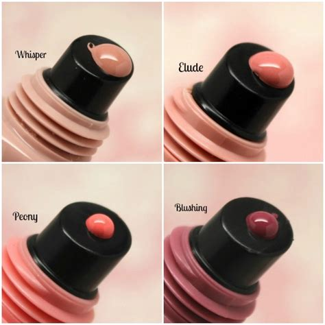 L A Glazed Lip Paint Peony l a glazed lip paint whisper elude peony blushing
