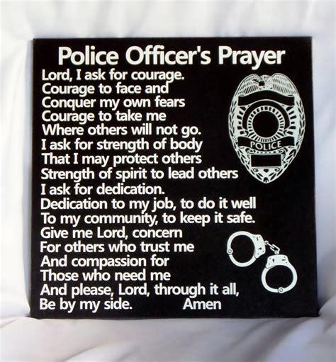 Prayers For Officers by Officer S Prayer Policeman S Prayer
