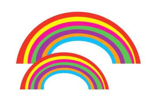 how many colors are there in a rainbow color song how many rainbows