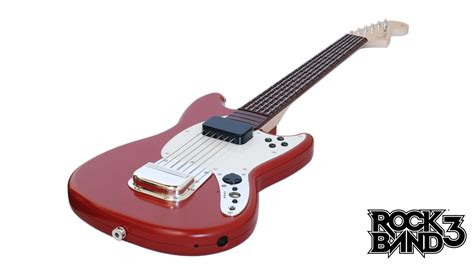 mustang pro guitar rock band 3 instruments details and pricing