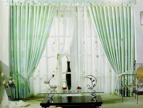 Curtains With Green Decorating Living Room Curtain Design With Light Green Color Ideas For Living Room Interior Living Room