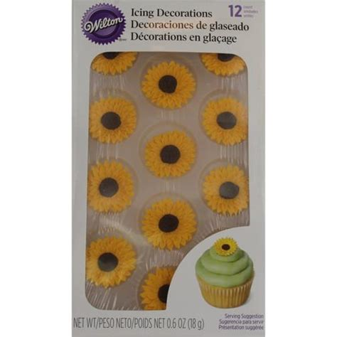 Cake Stencils Variety Pack wilton sunflower royal icing decorations craftcake co