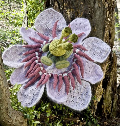 knitting garden sowing a garden one knit flower at a time arts