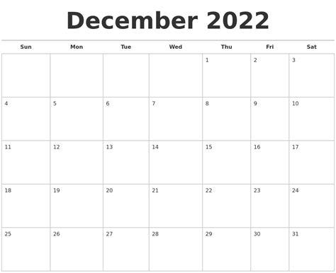 december calendars december 2022 calendars free
