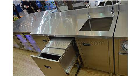 Stainless Steel Restaurant Commercial Modern Design Bar