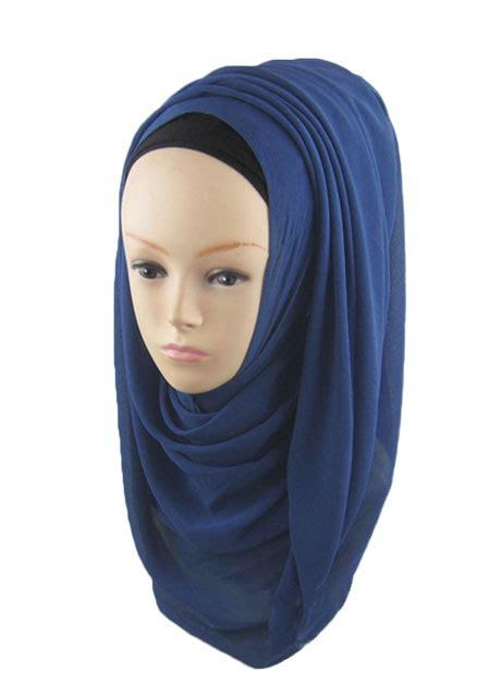 solid soft muslim headscarf hijab fairyseason
