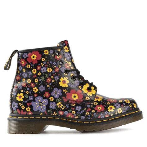 flower pattern doc martens dr martens floral tumblr