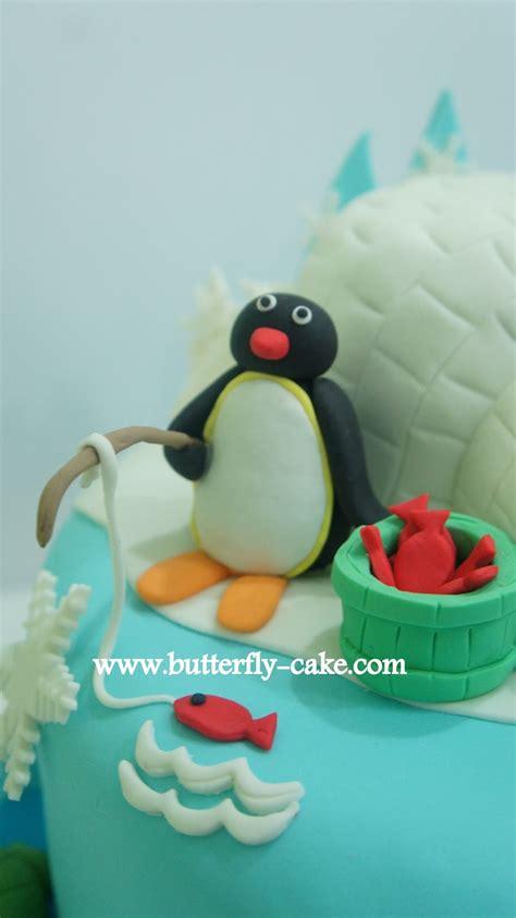 butterfly cake pingu cake  kayla