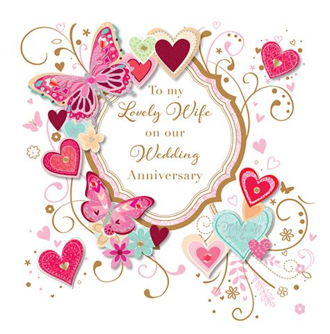 Wedding Anniversary Cards Free by To My Lovely Wedding Anniversary Greeting Card By