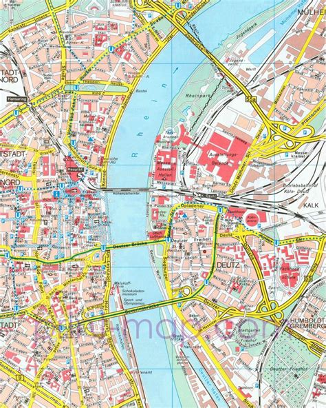 map of koln germany pdf map of cologne germany gt see more at http www