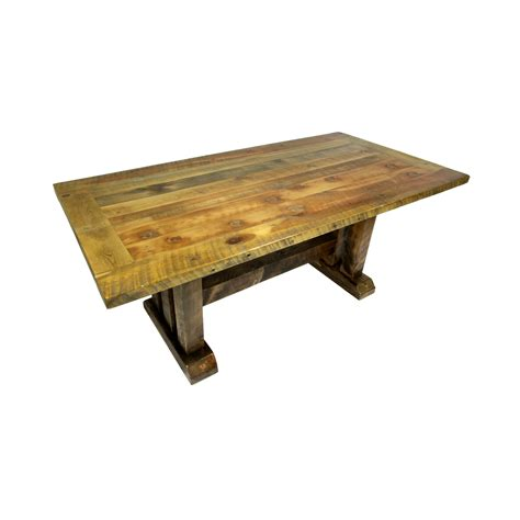 reclaimed trestle dining table reclaimed trestle dining table four corner furniture