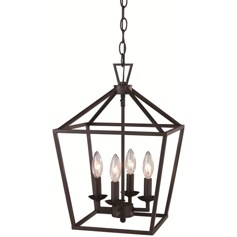 cage lighting pendants trans globe 10264 4 light bird cage pendant homeclick