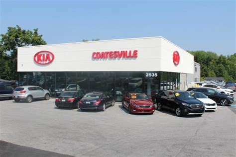 Find Kia Dealer Kia Of Coatesville Coatesville Pa 19320 Car Dealership