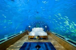Undersea Bedroom Underwater Hotel First Underwater Hotel Suite