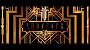 gatsby border template the great gatsby logo free template after effects