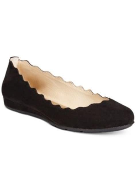 macys flat shoes american rag american rag erin scalloped ballet flats