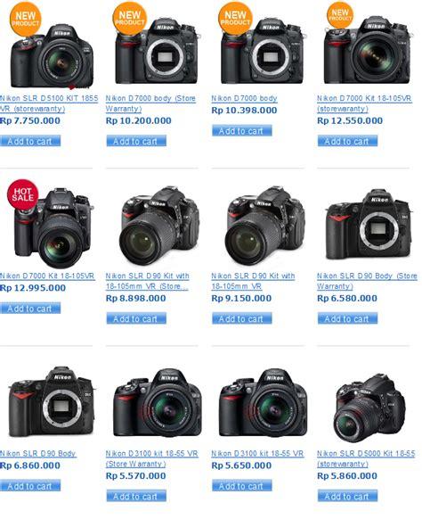 harga kamera digital slr canon terbaru