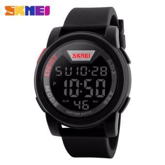 Skmei Trendy Led Dg1218 skmei sport led anti air water resistant wr 50m