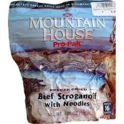 mountain house pro pak mountain house pro pak beef stroganoff