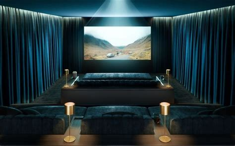 cinema room  cit south bank tower designed