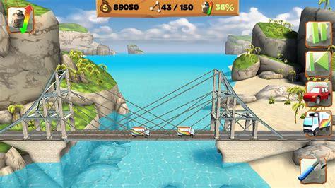 bridget constructor best bridge building game bridge constructor playground screenshot