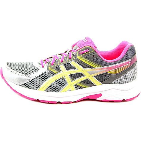 womens grey running shoes asics gel contend 3 mesh gray running shoe athletic