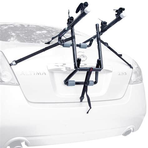 Trunk Racks For Cars by Allen Sports Deluxe 2 Bike Trunk Mount Rack