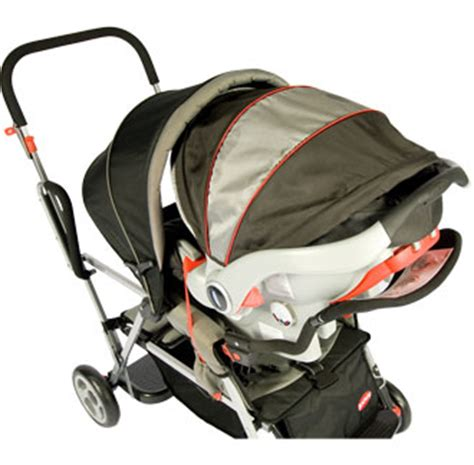 joovy universal car seat adapter joovy caboose stand on tandem stroller black best stroller