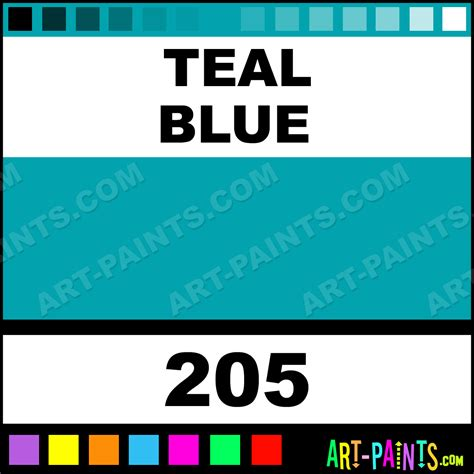 teal blue ecological acrylic paints 205 teal blue paint teal blue color wyland ecological