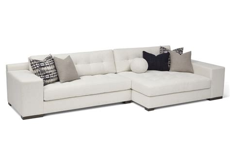 double chaise sectional koda wood leg double chaise sectional rc furniture