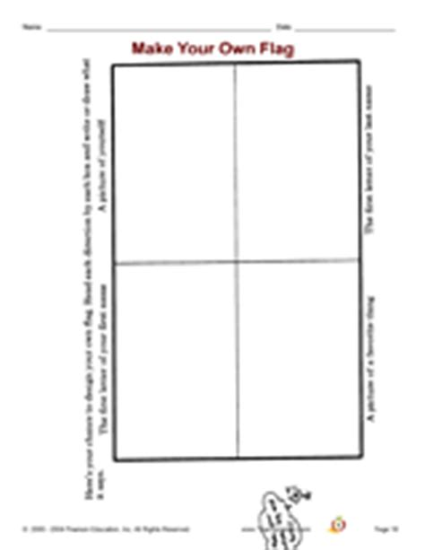 Make Your Own Flag Teachervision Design Your Own Flag Template