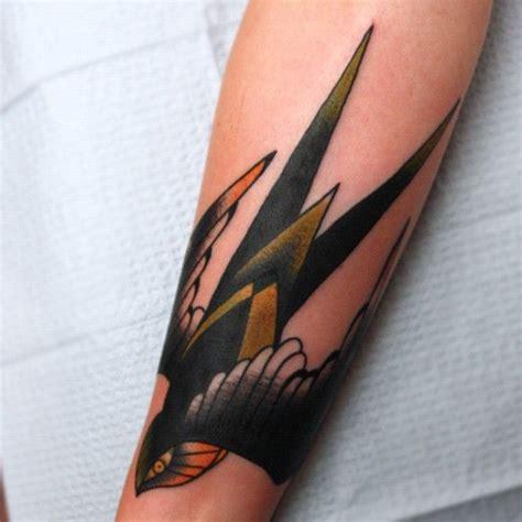 sparrow wrist tattoo beginning of sleeve at wrist or mid