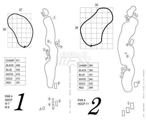 Golf Yardage Book Template 28 Images 12 Best Images Golf Notebook Template