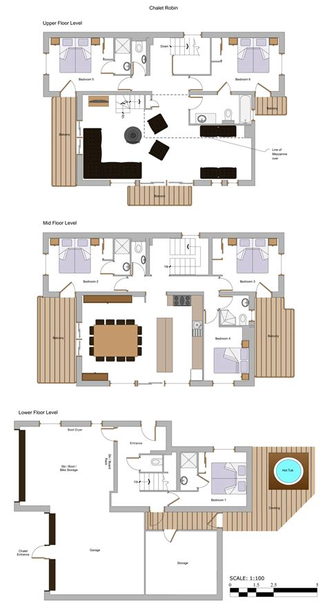 chalet floor plans and design chalet robin more mountain