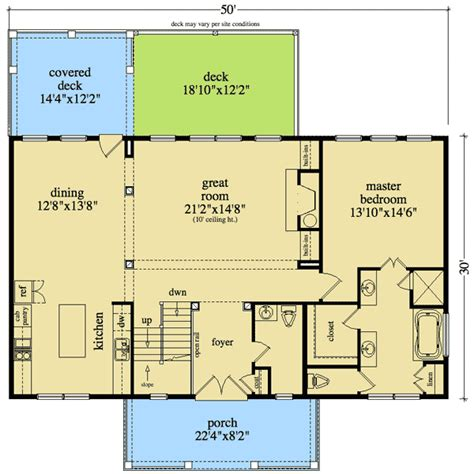 sloping house plans mibhouse com rustic house plan for sloping lot 29860rl