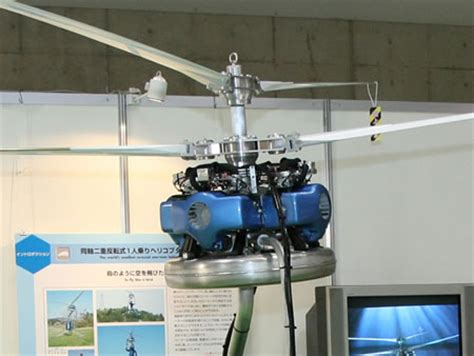 the world's smallest one person helicopter