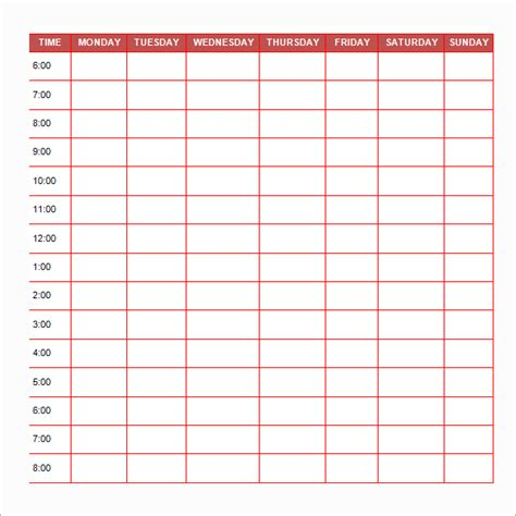 free printable daily schedule pictures search results for printable daily schedule template