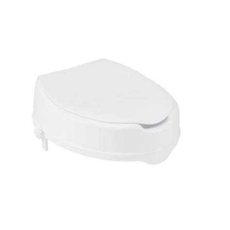 drive raised toilet seat with lock and lid 12065 the